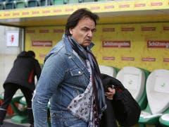 Die Situation seines FC Sion kann Präsident Christian Constantin nicht gefallen (Bild: KEYSTONE/EDDY RISCH)