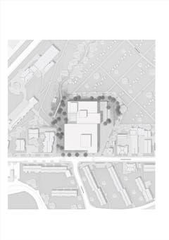 Situationsplan (Quelle: Architekt A. Senn)