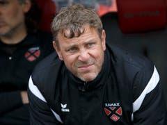 Trainer Stéphane Henchoz will Xamax retten. Er hat aber immer noch ein schweres Stück Arbeit vor sich (Bild: KEYSTONE/SALVATORE DI NOLFI)