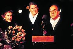 Im November 1985 traf Bundespräsident Kurt Furgler das Präsidentenpaar Ronald und Nancy Reagan in Genf. Anlass war die Genfer Gipfelkonferenz, bei der die USA und die Sowjetunion über einen Abbau von Atomwaffen sprachen.