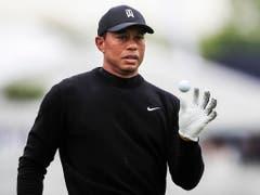 Tiger Woods hat seine spielerische Leichtigkeit wiedergefunden (Bild: KEYSTONE/EPA/TANNEN MAURY)