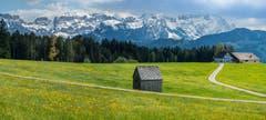 Die Stimmung am Alpstein am Hohen Hirschberg ist von der Bise geprägt. (Bild: Hans-Jörg Nüesch)