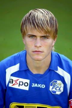 Im Sommer 2006 wechselte Lustenberger dann zum FCL. (Bild: Fabienne Arnet, 12. Juni 2006)