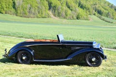 Bentley 4,25-Litre Concealed Drophead Coupe by HJ Mulliner 1938
