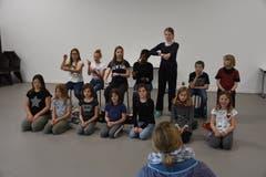 Kinder proben für das Musiktheater. (Bild: PD)