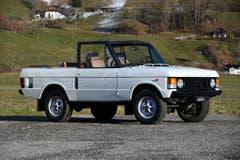 Range Rover Classic Convertible 1981