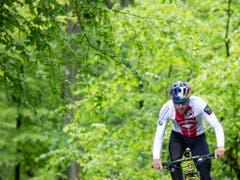 Europameister Lars Forster hat sich dem Team Scott von Nino Schurter angeschlossen (Bild: KEYSTONE/PETER KLAUNZER)