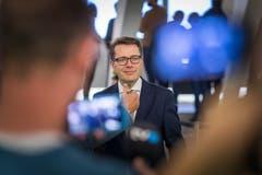 Der neu gewählte Ständerat Beni Würth. Bild Michel Canonica