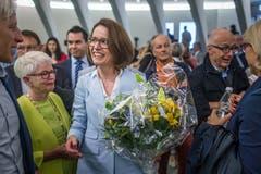 Die unterlegene Ständeratskandidatin Susanne Vincenz-Stauffacher. Bild:Michel Canonica