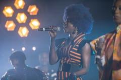 «Les Amazones d`afrique» traten am Mittwochabend in Stans auf. (Bild: Urs Flüeler / Keystone, Stans, 1. Mai 2019)