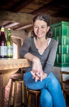 Cecil König, die Kreuzlingerin, wirtet in der Weinstube Hintertürle, mitten in der Niederburg. (Bild: Andrea Stalder)