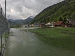 In Alt St.Johann wird heute mit Sicherheit nicht Fussball gespielt. (Bild: Christiana Sutter)