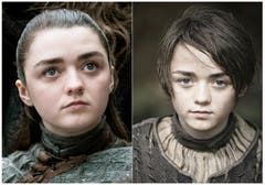 Maisie Williams spielte Arya Stark. (HBO via AP)