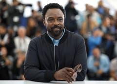 Schauspieler Ariyon Bakare posiert in Cannes. > Fototermin für den Film «Frankie» (AP Photo/Petros Giannakouris)