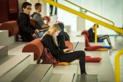 Laptops sind nicht mehr aus der Lernlandschaft wegzudenken. (Bild: Reto Martin)