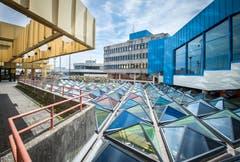 Die Architektur der Uni Konstanz stammt grösstenteils aus den 1970er-Jahren. (Bild: Reto Martin)