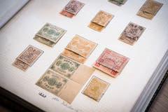 ...45'000 Franken erzielen. Verkauft wird auch diese Sammlung... (Bilder: Ralph Ribi)