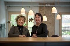 Hilfe für pflegende Angehörige: Bea Goldman (links) und Suzana Keller. (Bild: Adriana Ortíz Cardozo)