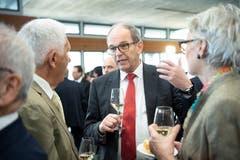 Der St.Galler Regierungsrat Bruno Damann. (Bild: Ralph Ribi)