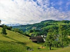 Wunderbare Morgenstimmung über dem Kloster Werthenstein. (Bild: Urs Gutfleisch, Werthenstein, 26. Mai 2019)