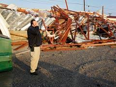 Viele Menschen im US-Bundesstaat Oklahoma verloren ihr Hab und Gut. (Bild: KEYSTONE/AP Tulsa World)