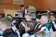 Die Musikgesellschaft Sennwald hat sich die Latte beim Selbstwahlstück in diesem Jahr höher gesetzt. (Bilder: PD)