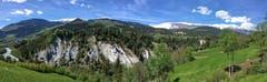 Flimser Bergsturzgebiet. (Bild: Toni Sieber)