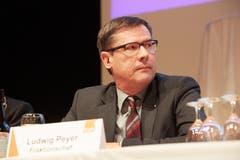 Fraktionschef Ludwig Peyer. (Bild: Jakob Ineichen, Sempach, 28. Mai 2019)