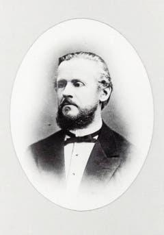 Simon Schwendener in jungen Jahren.