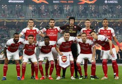 Die Startformation von Arsenal. (Bild: Darko Bandic / AP)