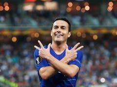 Chelseas Pedro trifft zum 2:0. (Bild: Maxim Shipenkov / EPA)