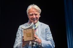 Der Luzerner Kabarettist, Schriftsteller, Regisseur und Schauspieler erhält von der Luzerner Regierung einen Anerkennungspreis für sein Lebenswerk. (Bild: KEYSTONE/Urs Flüeler, 29. April 2019)