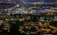 «Zug by Night». (Bild: Daniel Hegglin, Zug, 29. Mai 2019)