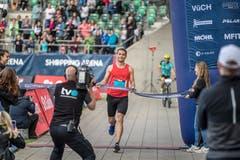 T-Roy Brown Sieger des Halbmarathon (Bild: Michel Canonica)