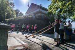Der 10-Kilometer-Lauf. (Bild: Michel Canonica)