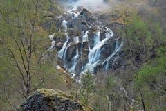 Neun der 20 höchsten Wasserfälle der Welt liegen in Norwegen.