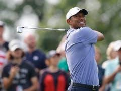 Timing und Schwung: Bei Tiger Woods stimmt es wieder (Bild: KEYSTONE/FR52593 AP/JAY LAPRETE)