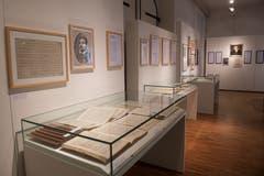 Impressionen aus der Ausstellung im Museum Fram.