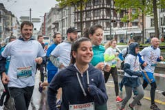 Impressionen vom Stadtlauf Luzern 2019. (Bild: Pius Amrein, 4. Mai 2019)
