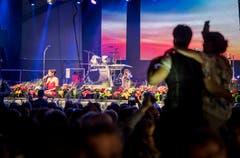 Bürglen TG - Alpenlandfestival in Bürglen. Auftritt Francine Jordi.