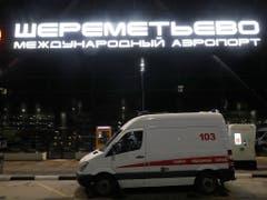 Scheremetjewo gilt als der grösste und sicherste Flughafen Russlands. (Bild: KEYSTONE/EPA/SERGEI ILNITSKY)
