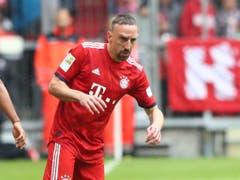 Franck Ribéry (im Bild) und Arjen Robben werden 2020 ein Abschiedsspiel bei Bayern München erhalten (Bild: KEYSTONE/AP/MATTHIAS SCHRADER)
