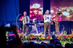 Bürglen TG - Alpenlandfestival in Bürglen. Letzter Auftritt von Alpenlandsepp und co,die Band geht danach in den Ruhestand.