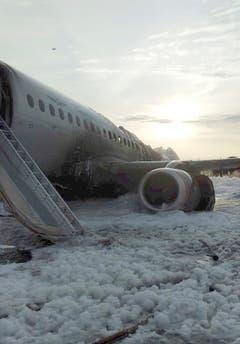 (Bild: Moscow News Agency photo via AP)
