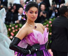 Lilly Singh an der Met Gala in New York. (Bild: Charles Sykes/Invision/AP)