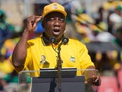 Präsident Cyril Ramaphosa scheint eine zweite Amtszeit sicher. (Bild: KEYSTONE/AP/JEROME DELAY)