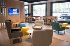 Das «Holiday Inn Express» ist im Krienser Mattenhof-Quartier. (Bild: Boris Bürgisser, Kriens, 8. Mai 2019)