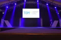 Am Donnerstagabend fand die feierliche Eröffnung der TOM statt. (Bild: Ruben Schönenberger, 9. Mai 2019)