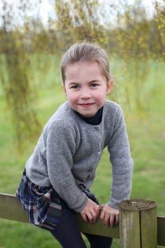 Die Prinzessin Charlotte wird vier Jahre alt. (Bild: Keystone/ The Duchess of Cambridge / SHUTTERSTOCK)