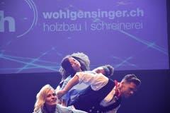 Die Produkteshow findet während der Toggenburger Messe mehrmals statt. (Bild: Ruben Schönenberger, 9. Mai 2019)